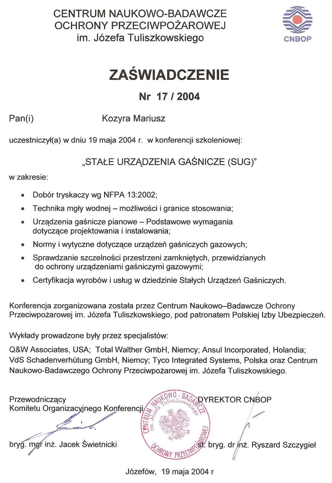 certyfikat_cnbop-mariusz-2004