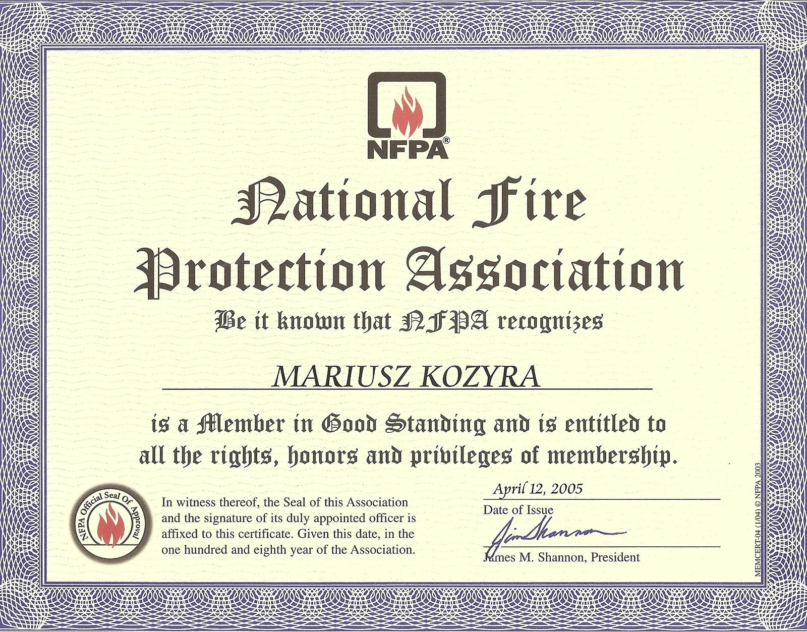 certyfikat_nfpa-czlonkowstwo