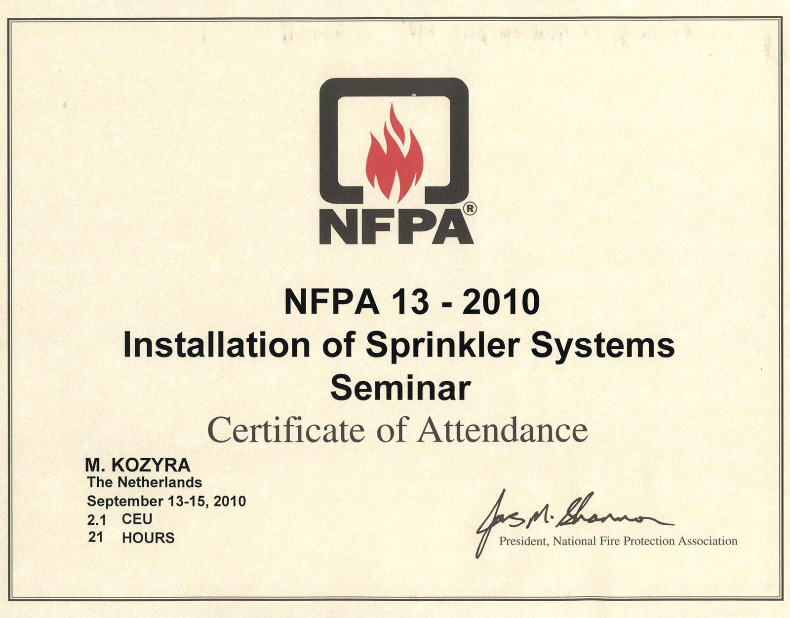 certyfikat_nfpa13_2010